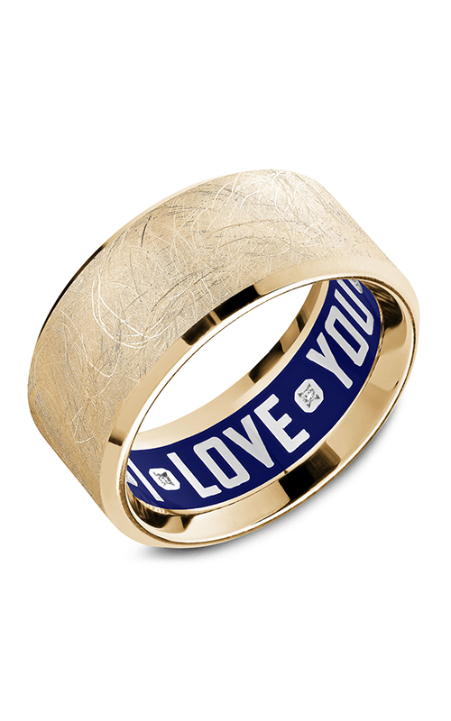 Carlex G4 Men's Wedding Band CX4-0004Y product image