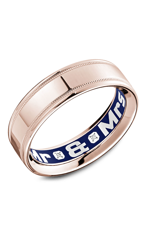Carlex G4 Wedding band CX4-0010R-S product image