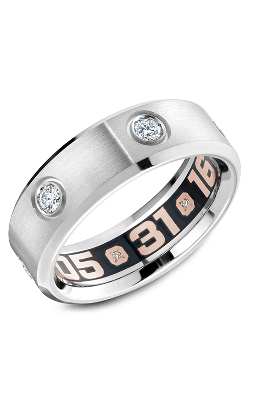 Carlex G4 Men's Wedding Band CX4-0017W product image