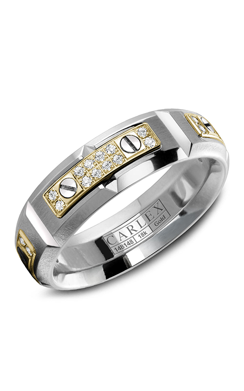 Carlex G2 Wedding band WB-9587YW product image