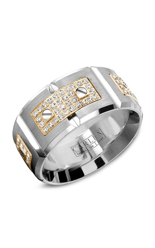 Carlex G2 Men's Wedding Band WB-9796YW product image