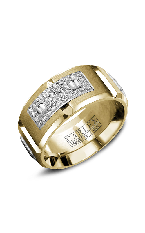 Carlex G2 Wedding band WB-9799WY product image
