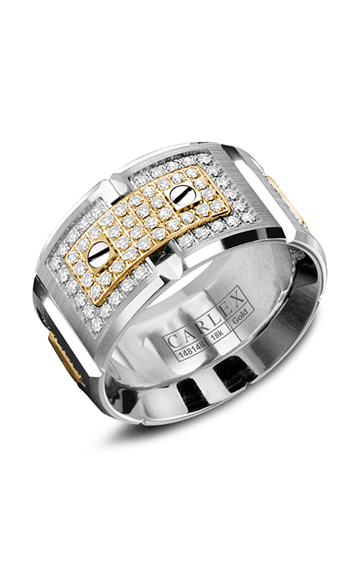 Carlex Wedding band G2 WB-9896YW product image