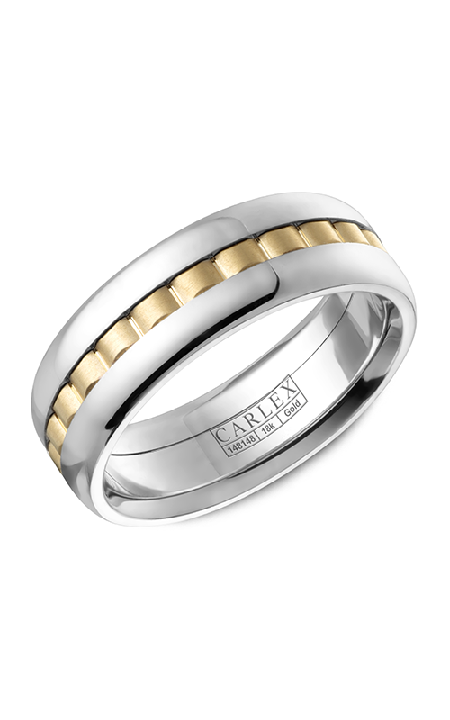 Carlex G3 Men's Wedding Band CX3-0049YW product image