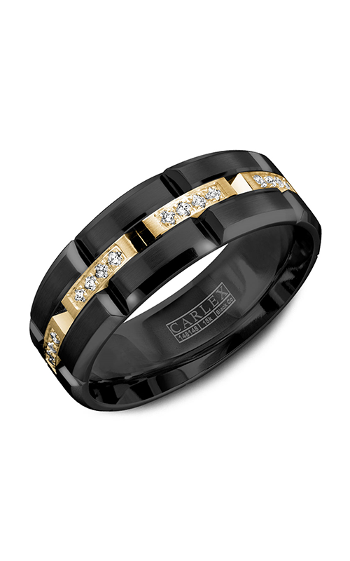 Carlex Sport Men's Wedding Band WB-9319YB product image