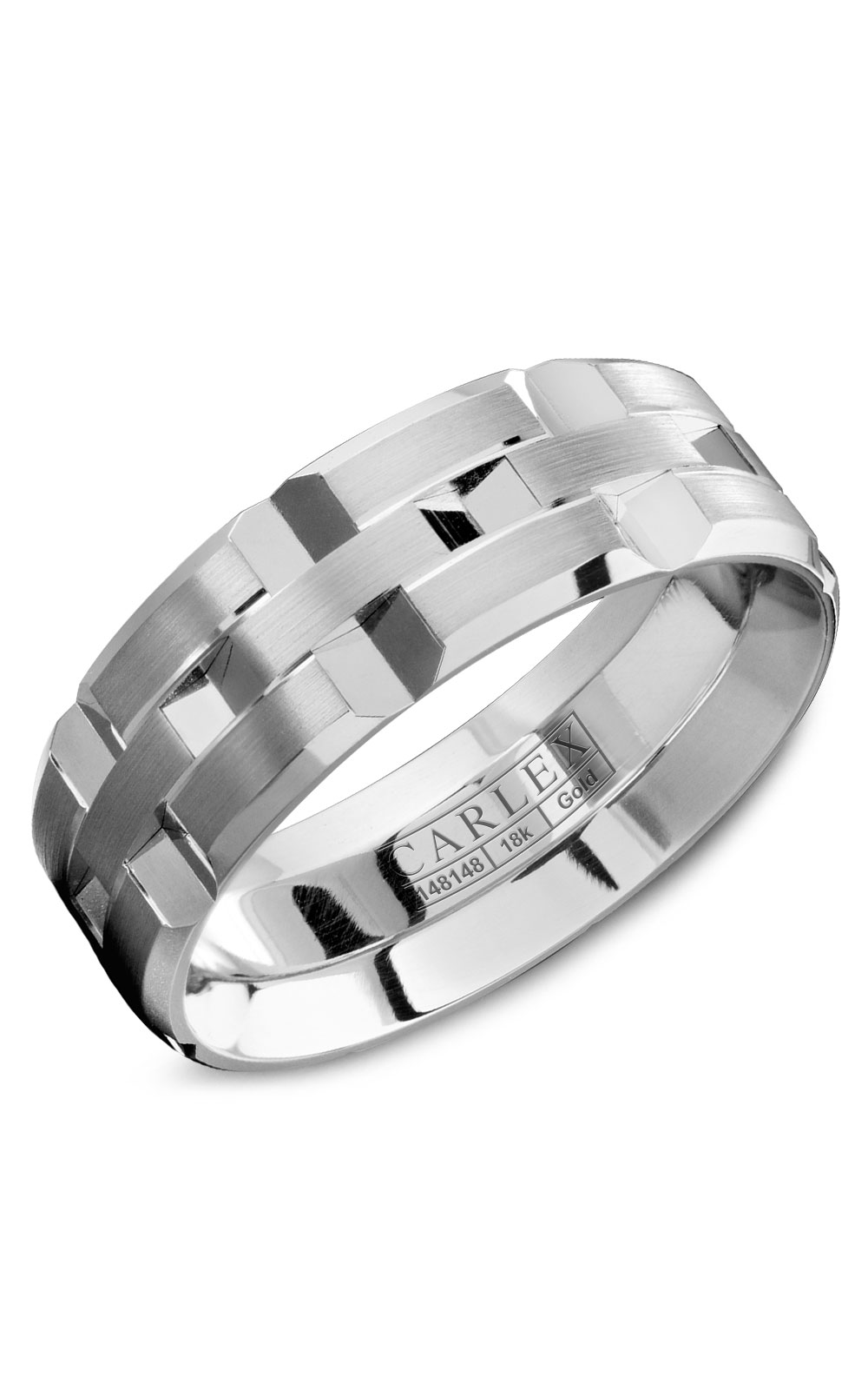 Carlex G1 Men's Wedding Band WB-9168 product image