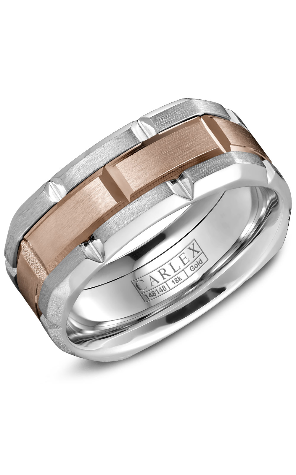 Carlex G1 Men's Wedding Band CX1-0001RW product image