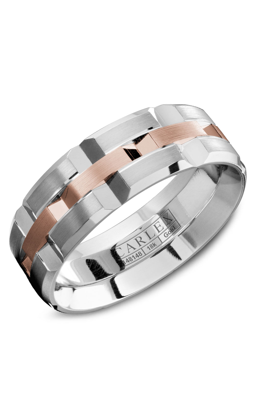 Carlex G1 Men's Wedding Band WB-9168RW product image