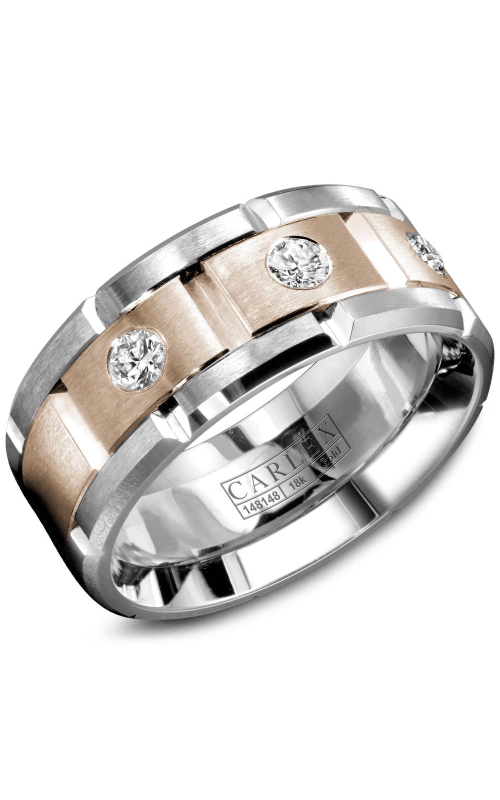 Carlex G1 Men's Wedding Band WB-9211RW product image