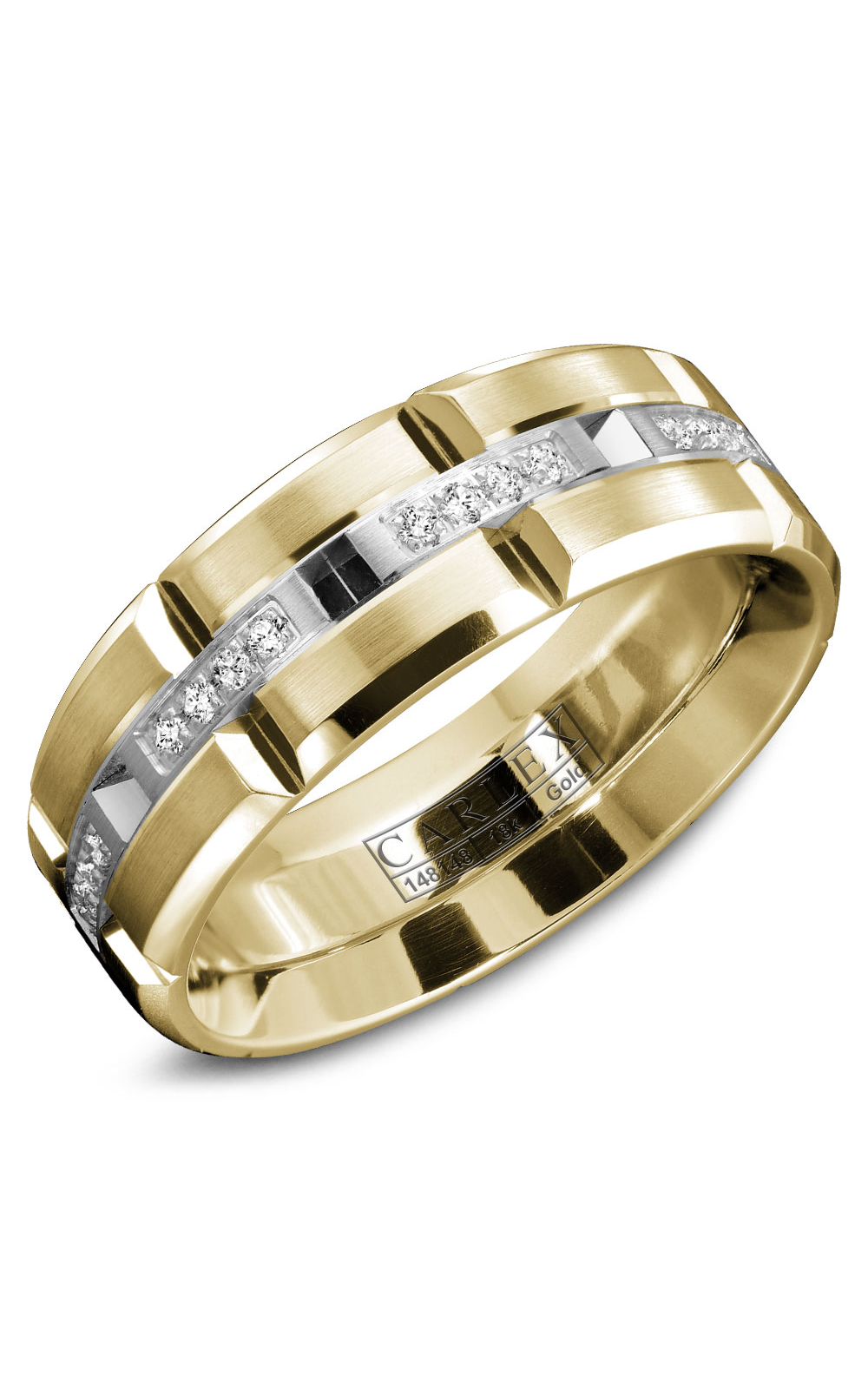 Carlex G1 Men's Wedding Band WB-9320WY product image