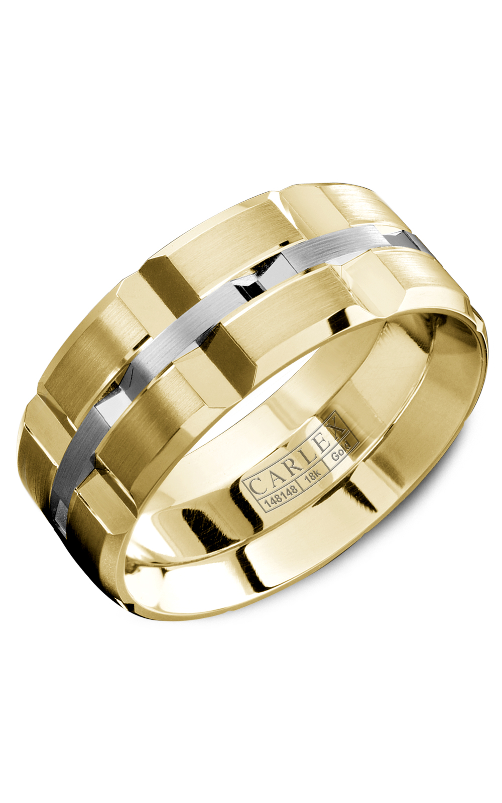 Carlex G1 Men's Wedding Band WB-9567WY product image