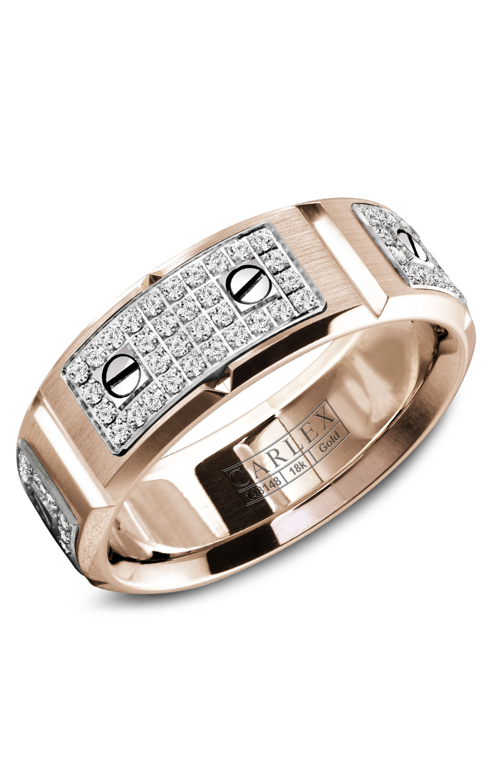 Carlex G2 Men's Wedding Band WB-9585WR product image