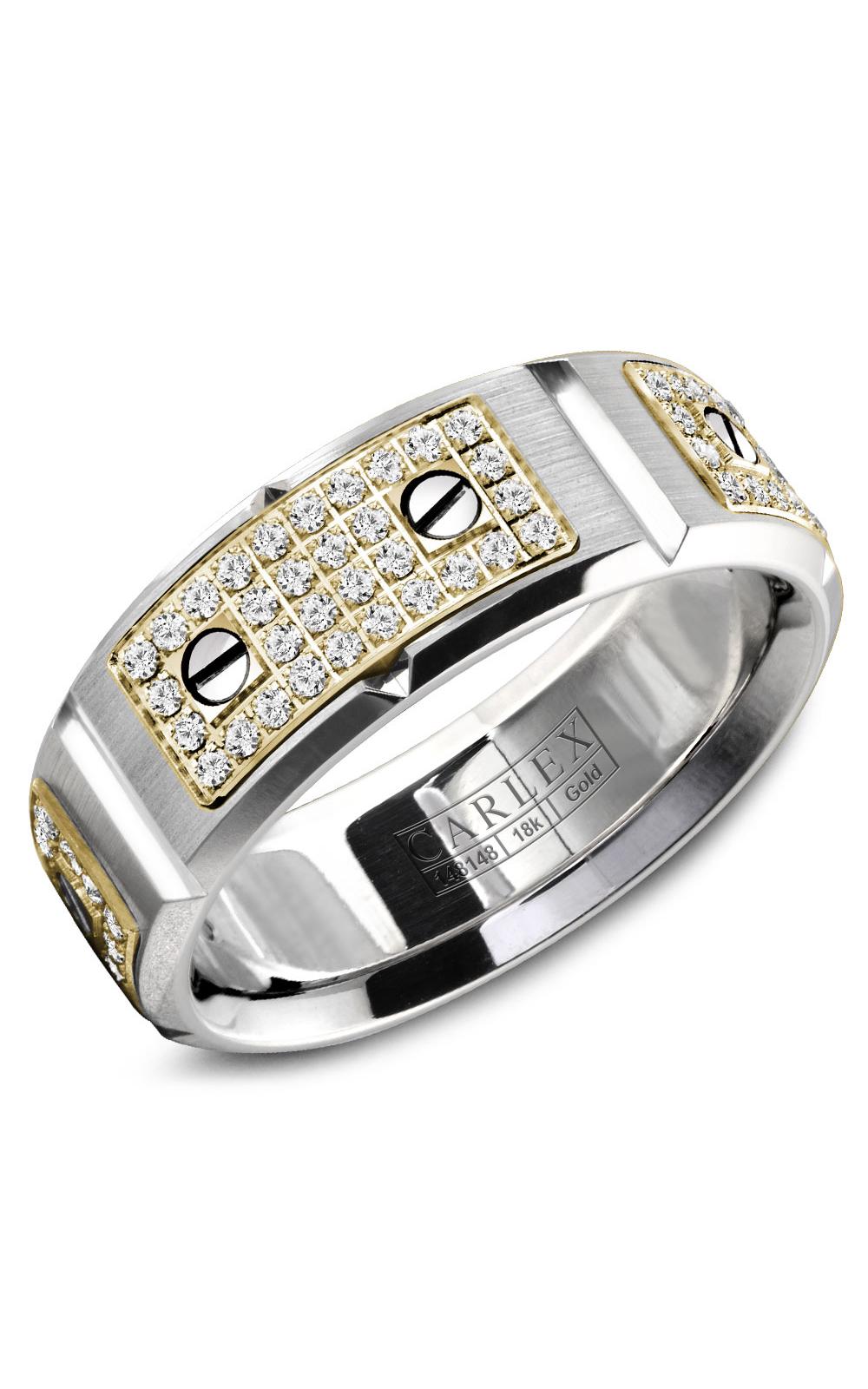 Carlex G2 Men's Wedding Band WB-9585YW product image