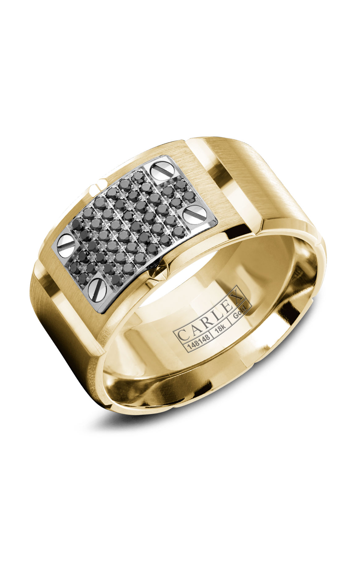 Carlex G2 Men's Wedding Band WB-9798WYBD product image