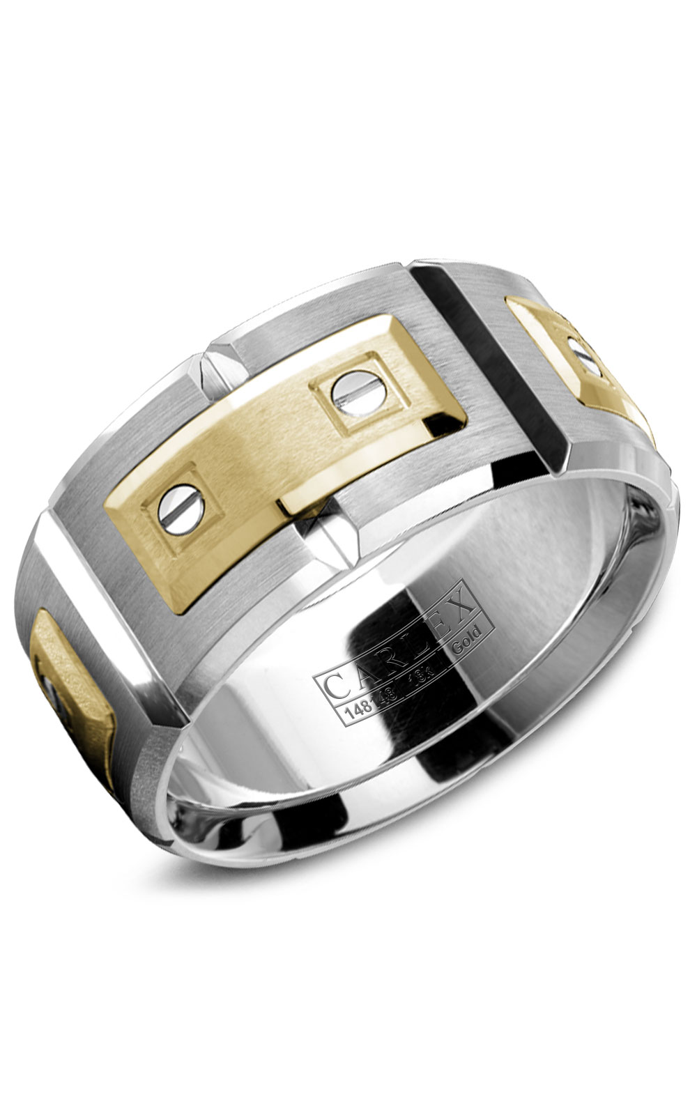 Carlex G2 Men's Wedding Band WB-9850YW product image