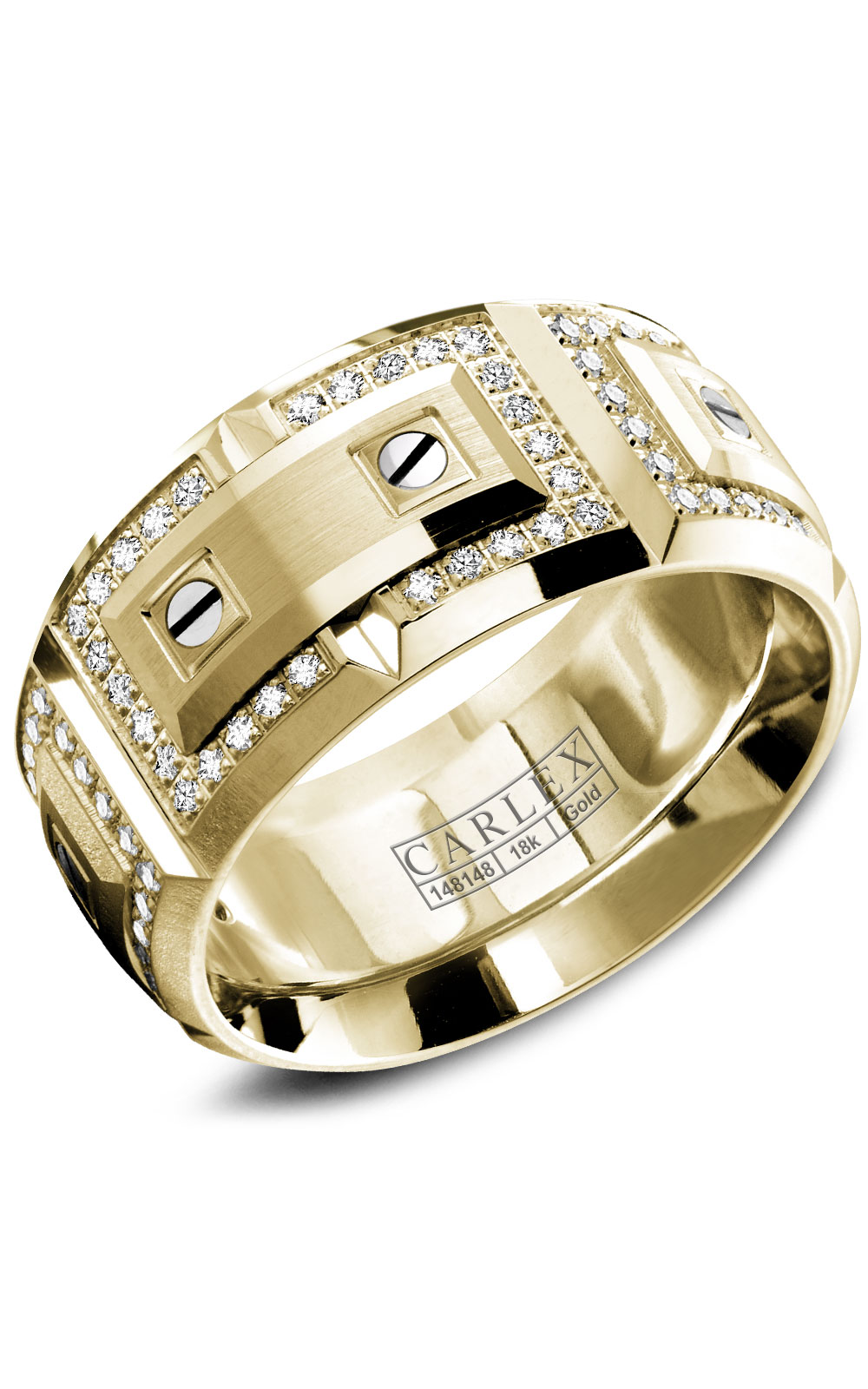 Carlex G2 Men's Wedding Band WB-9851YY product image