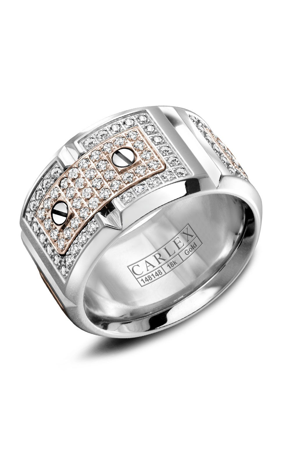 Carlex G2 Women's Wedding Band WB-9895RW product image
