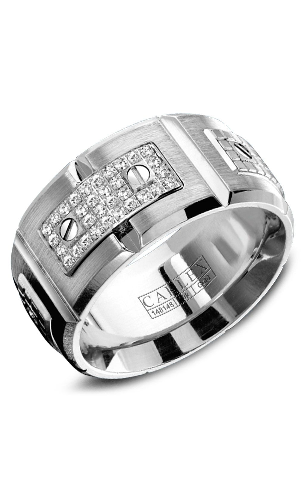 Carlex G2 Men's Wedding Band WB-9897WW product image