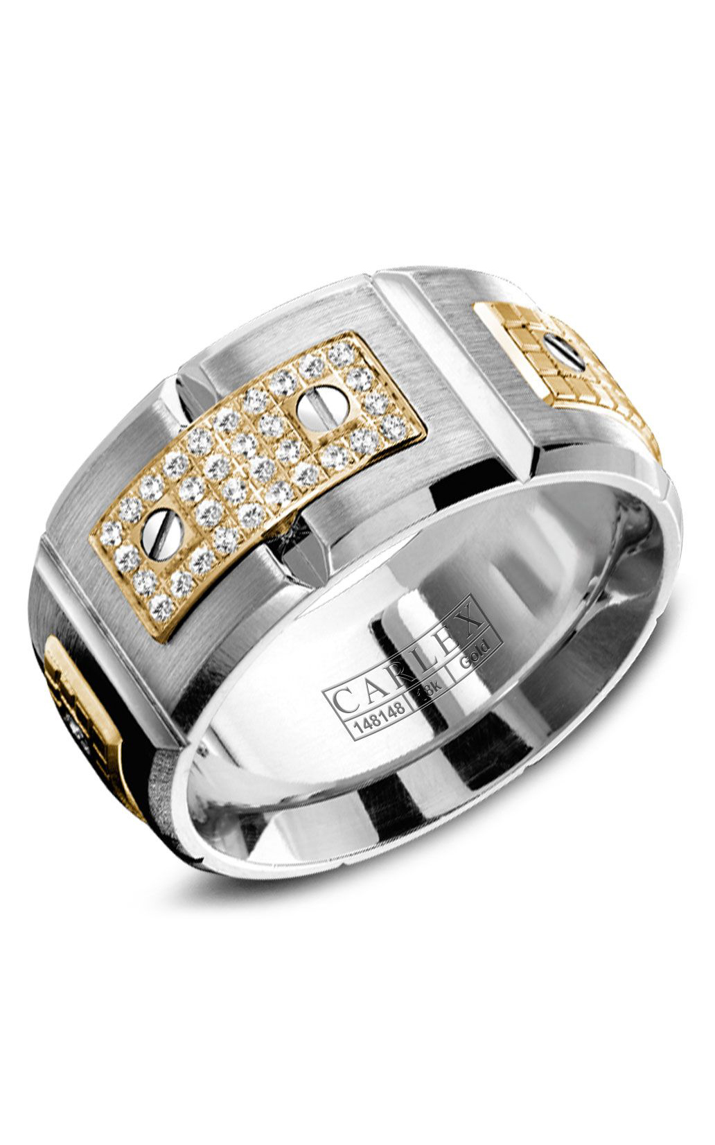 Carlex G2 Men's Wedding Band WB-9897YW product image
