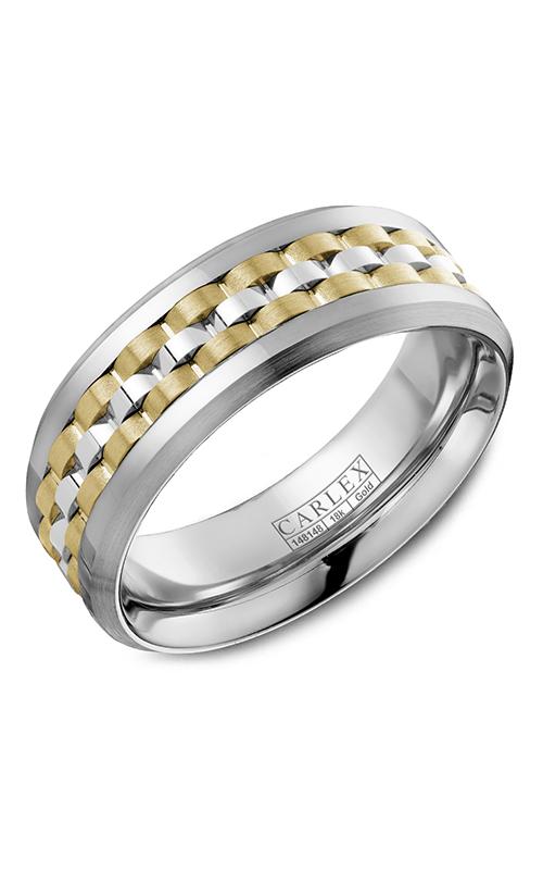 Carlex G3 Men's Wedding Band CX3-0021WYW product image