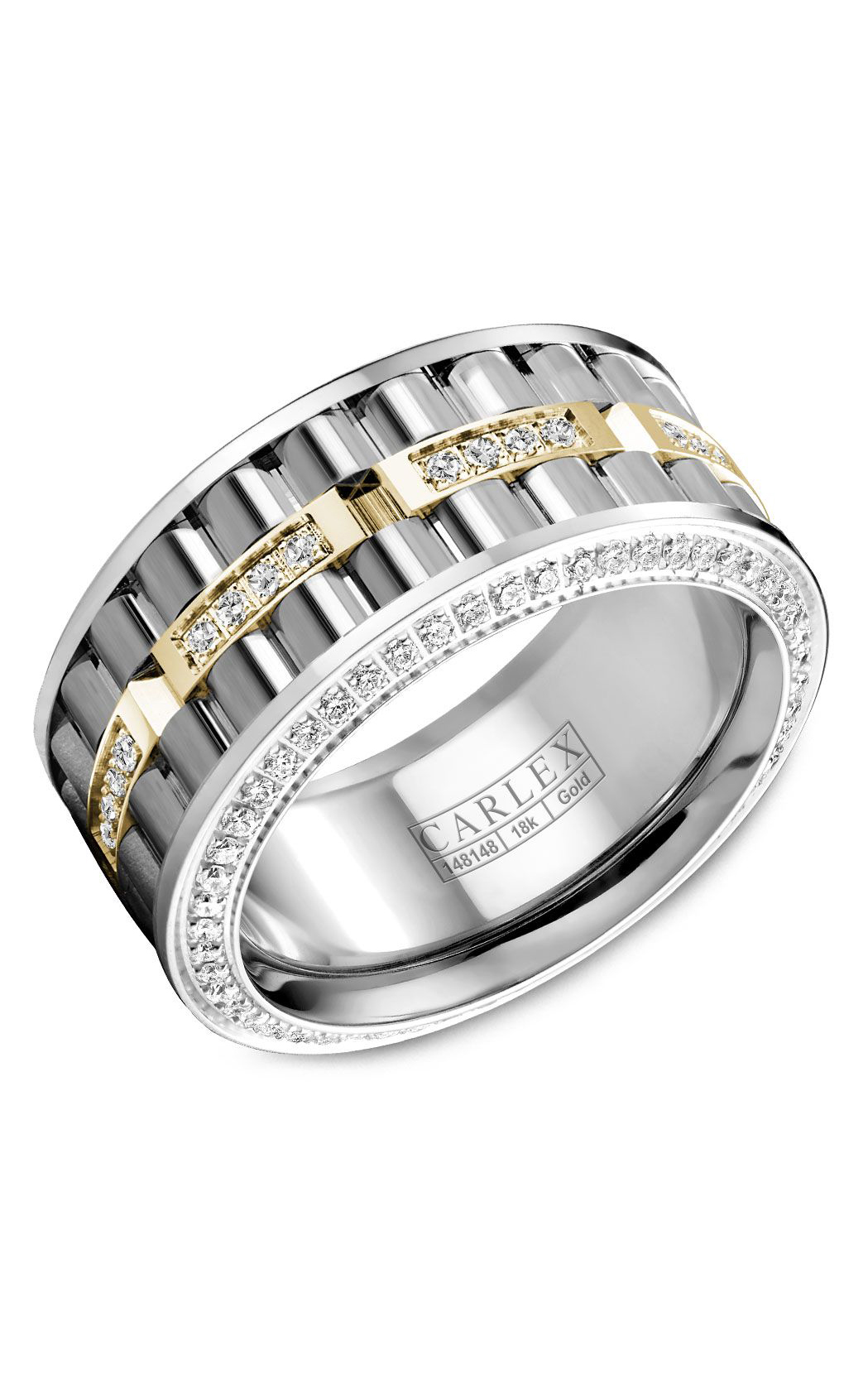 Carlex G3 Men's Wedding Band CX3-0051YWW product image