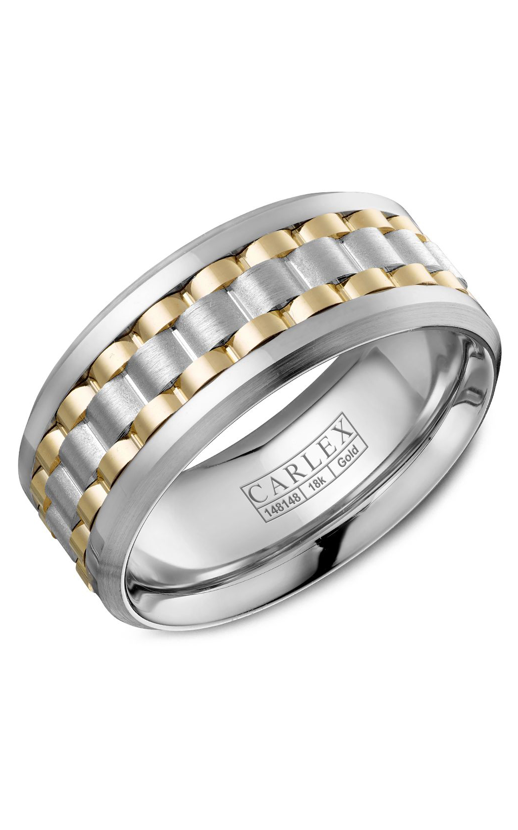 Carlex Sport Men's Wedding Band CX3-0022WYW product image