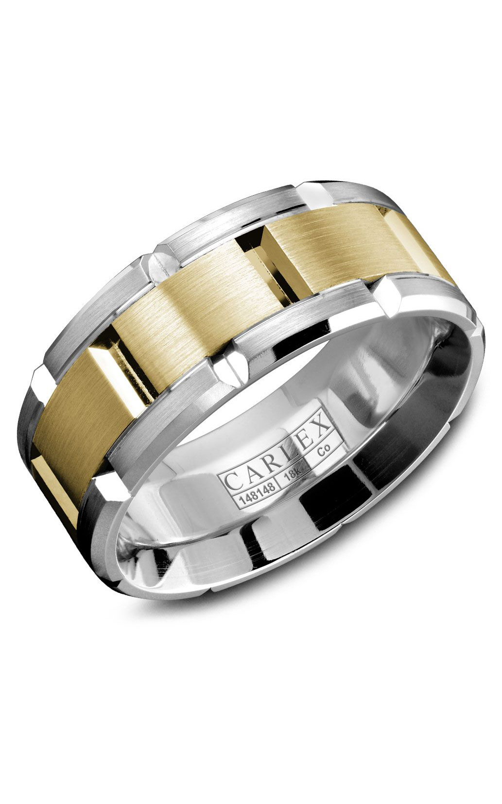 Carlex Sport Men's Wedding Band WB-9167YC product image