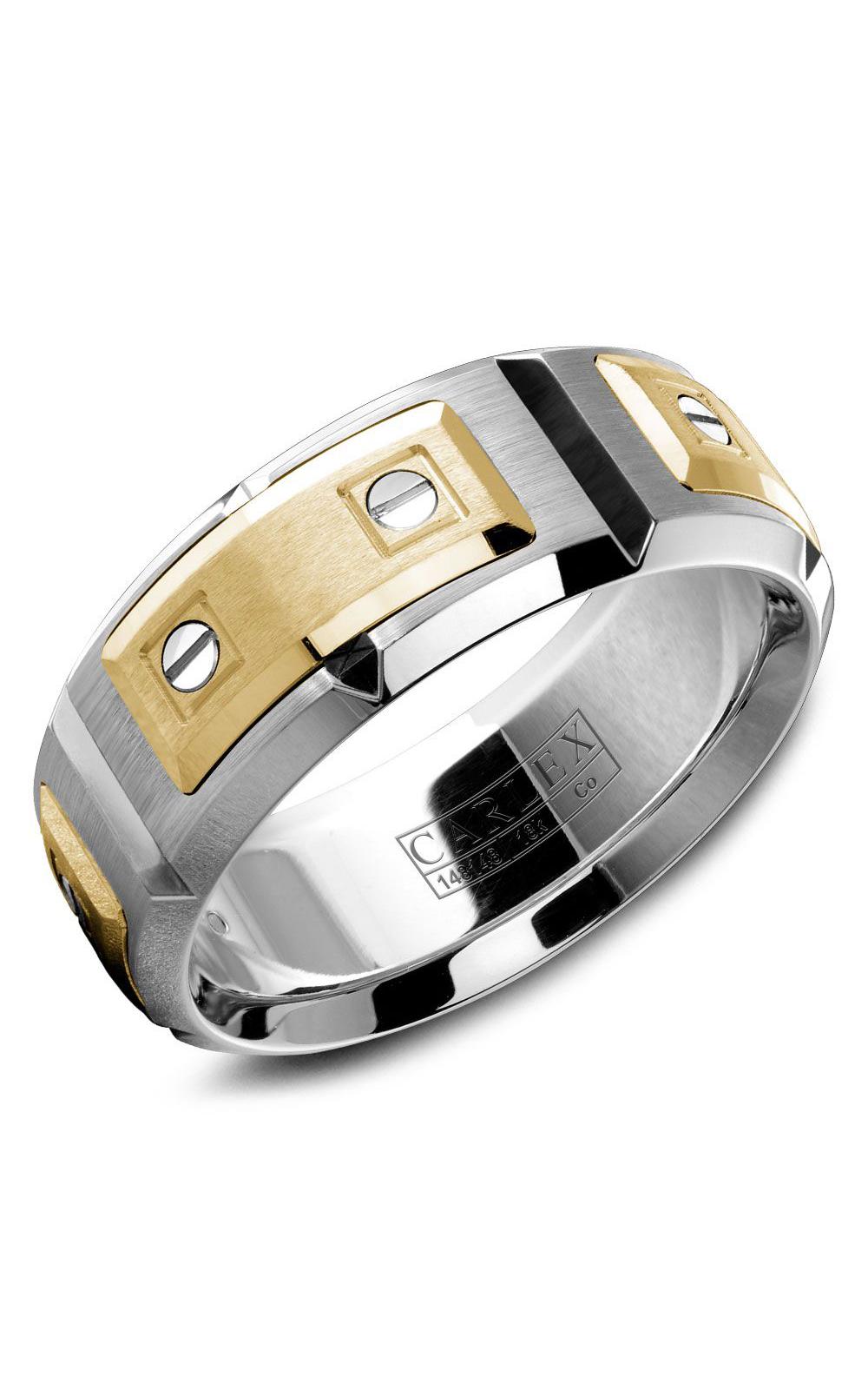 Carlex Sport Men's Wedding Band WB-9852YC product image