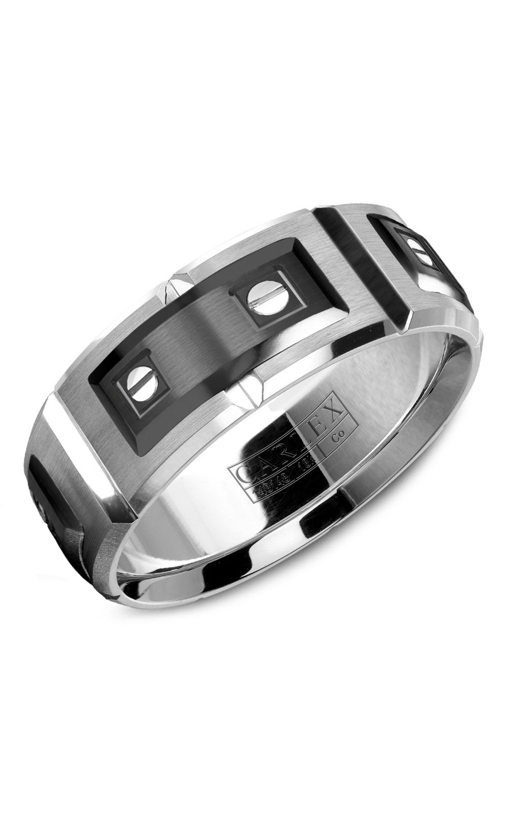 Carlex Sport Men's Wedding Band WB-9854BW product image