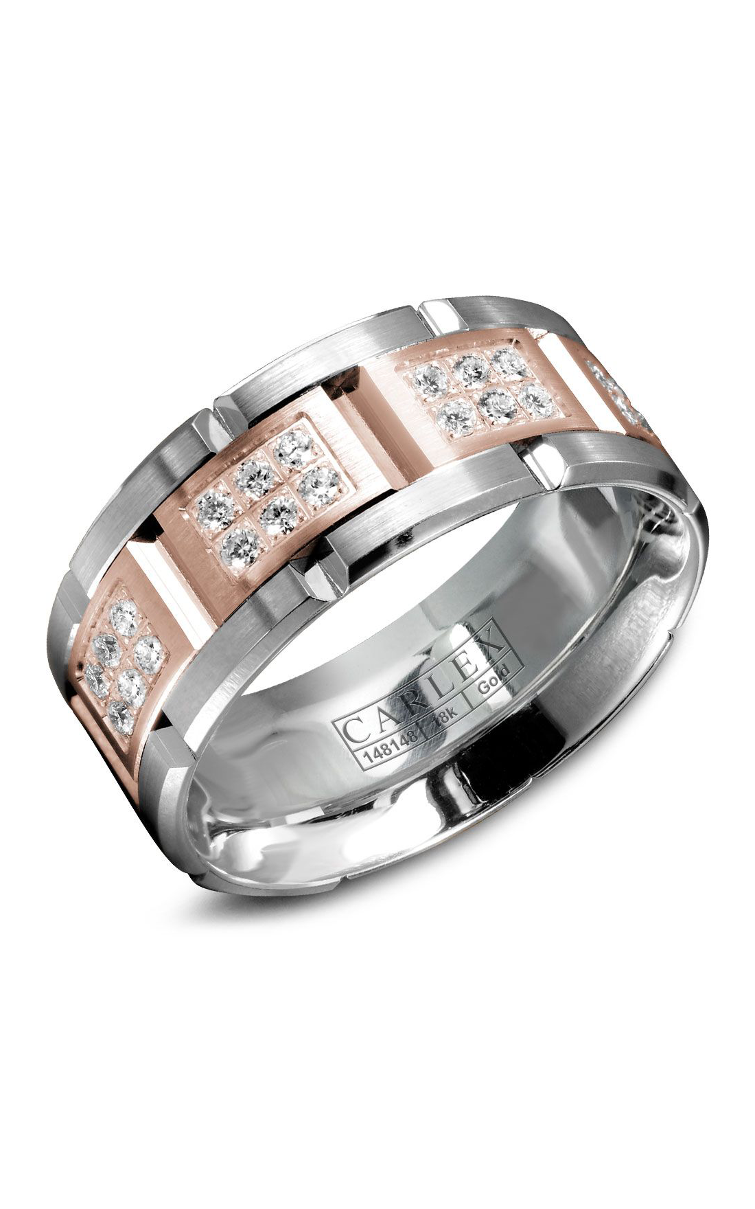 Carlex G1 Men's Wedding Band WB-9155RW product image