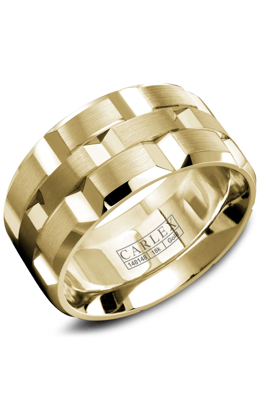 Carlex G1 Men's Wedding Band WB-9143Y product image
