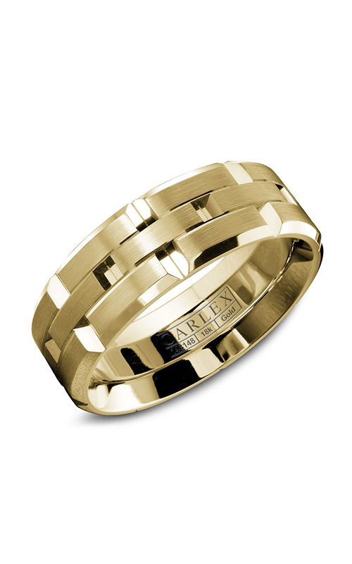 Carlex G1 Men's Wedding Band WB-9146Y product image