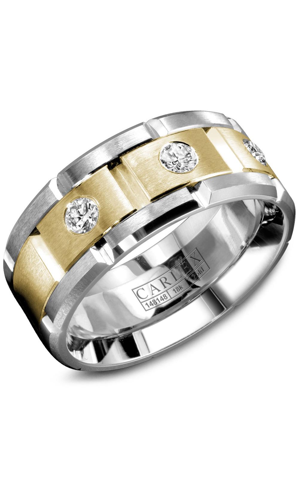 Carlex G1 Men's Wedding Band WB-9211YW product image