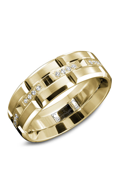Carlex G1 Men's Wedding Band WB-9320Y product image