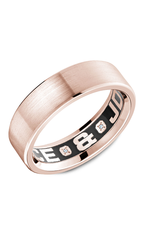 Carlex G4 Men's Wedding Band CX4-0001R-S product image