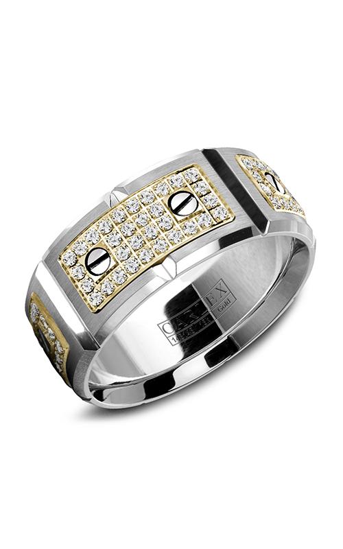Carlex G2 Men's Wedding Band WB-9792YW product image