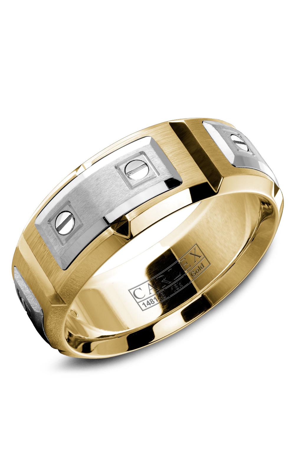 Carlex G2 Men's Wedding Band WB-9852WY product image