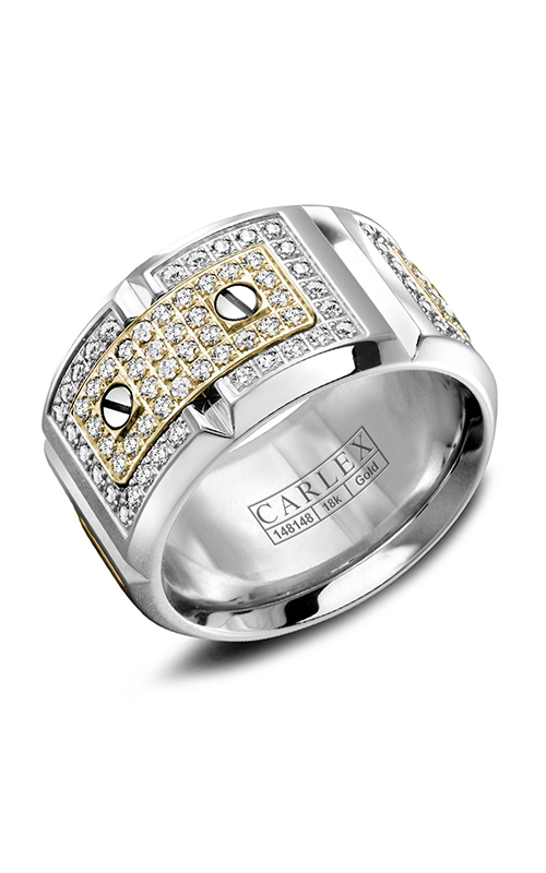 Carlex G2 Women's Wedding Band WB-9895YW-S6 product image