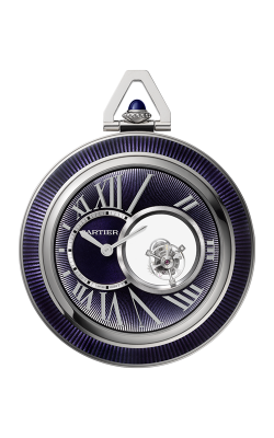 Cartier Mysterious Double Tourbillon Pocket Watch WHRO0011 product image