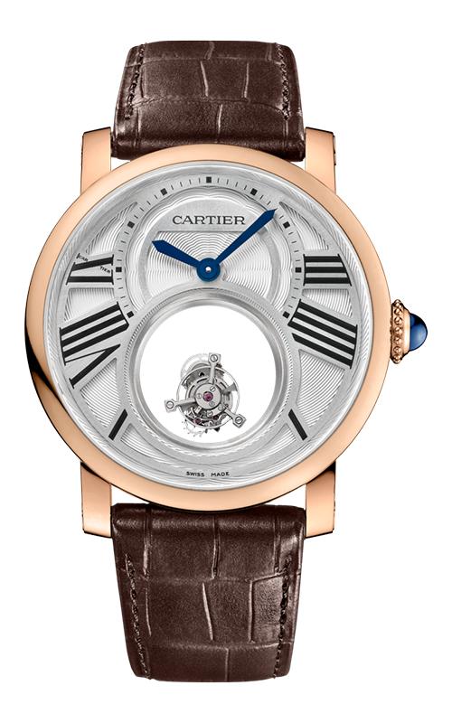 Rotonde de Cartier Mysterious Double Tourbillon Watch W1556230 product image