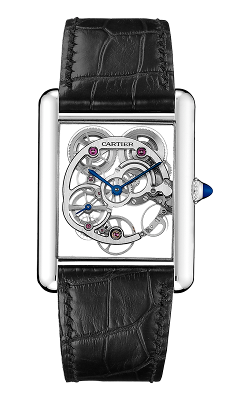 Tank Louis Cartier Skeleton Sapphire Watch W5310012 product image