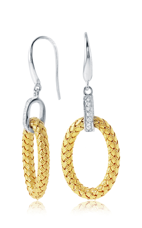 Charles Garnier Earrings Paolo Collection MLE8155YWZ product image