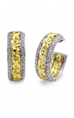 Charles Krypell Gold Earrings 1-3641-GD product image