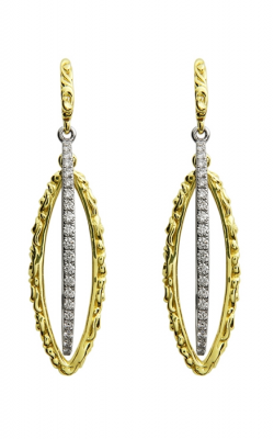 Charles Krypell Gold Earrings 1-3821-GD40 product image