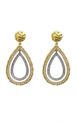 Charles Krypell Gold Earrings 1-3897-GD product image