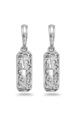 Charles Krypell Ivy Lace Sterling Silver Earrings 1-6973-S product image