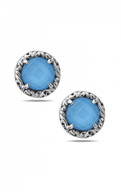 Charles Krypell Sterling Silver Earrings 1-6944-TQ product image