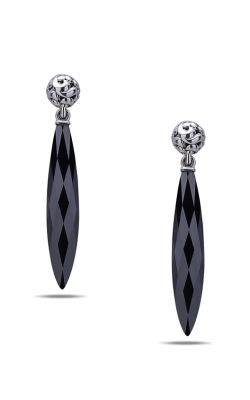Charles Krypell Skye Hematite Earrings 1-6891-HEM product image