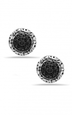 Charles Krypell Black Sapphire Pave Earrings 1-6944-SBS product image