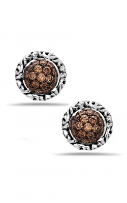Charles Krypell Brown Diamond Pave Earrings 1-6944-SBRP product image